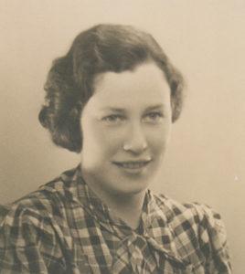 Ein Foto der jungen Marion Rosen 1934.