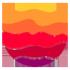 Logo_rund_violett_rot_orange_100